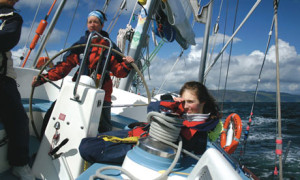 Learning to sail in the UK