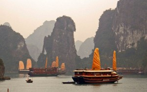 Halong-Bay-Junks